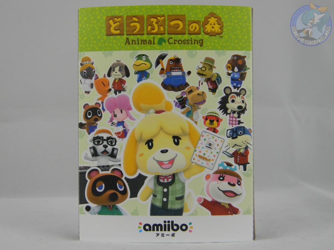 Animal Crossing mini album compact storage case for amiibo card